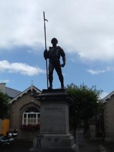 Statue of a 1798 Pikeman